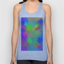 The silent of flowers ... Unisex Tank Top