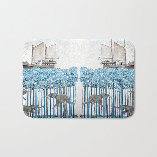 Sea of Trees Bath Mat