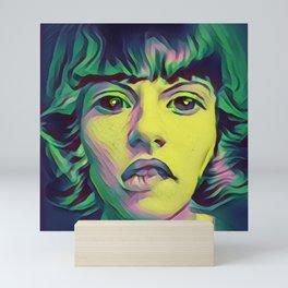 technicolor sighs Mini Art Print