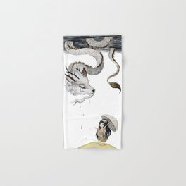 Water Dragon Hand & Bath Towel