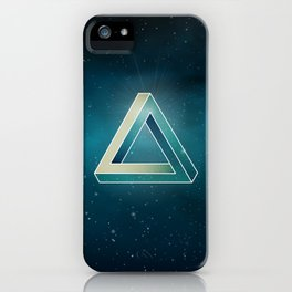 Penrose Universe iPhone Case