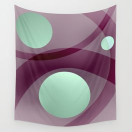 Arcs and Spheres Wall Tapestry