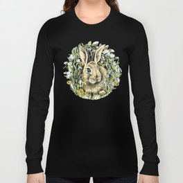 Spring rabbit Long Sleeve T-shirt