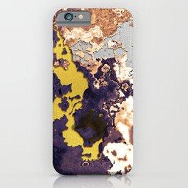 Mixture of minerals iPhone Case