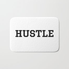Hustle - Motivation Bath Mat