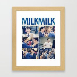 Milk (Movie) Framed Art Print