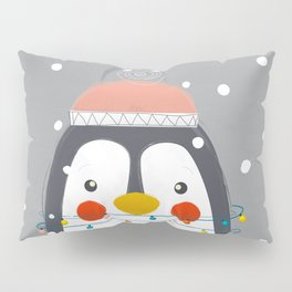 Christmas Penguin Pillow Sham