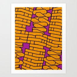 Jenga Art Print