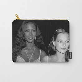 Kate Moss Naomi Campbell Fashion Wall Art Print - 90s Super Model Pin Up Poster - Wall Decor Carry-All Pouch