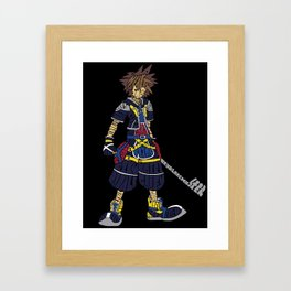 Kingdom Hearts: Sora Framed Art Print