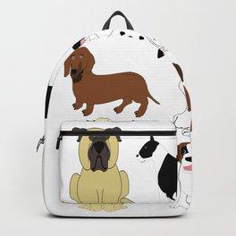 Pet dogs design Backpack