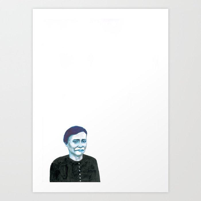 Les disparus 7 Art Print