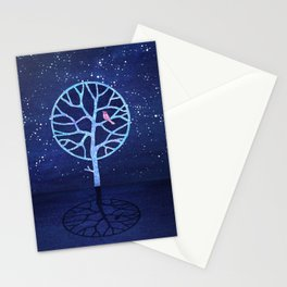 Nightingale tree Stationery Cards