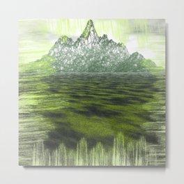 Far far Mountain Metal Print