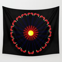 golf Wall Tapestries featuring Golf Club daisy 1 by DigitalAndPhoto