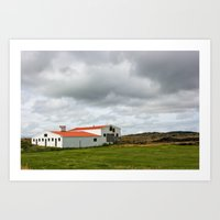 Abandoned in North Iceland Art Print
