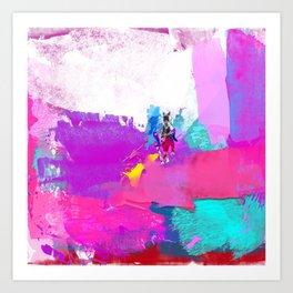 polo abstract Art Print