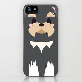 Oscar the Schnauzer iPhone Case