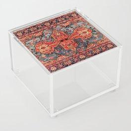 Kashan Poshti Central Persian Rug Print Acrylic Box