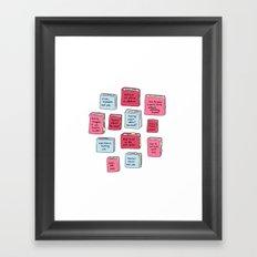 A Better Curriculum Framed Art Print