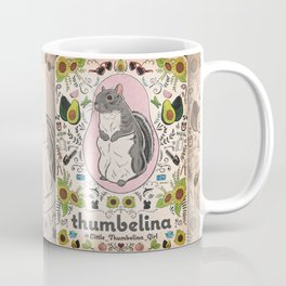 Little Thumbelina Girl: Thumb's Favorite Things in Color Coffee Mug