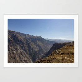 Colca Canyon Art Print
