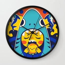 Overbite: Jawbreaker 1 Wall Clock