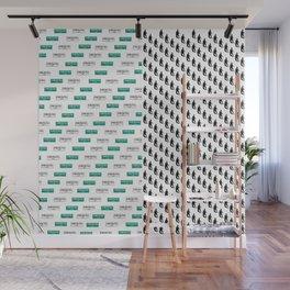 SF Giants Pattern Wall Mural