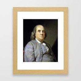 Benjamin Franklin Framed Art Print