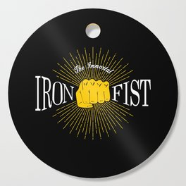 The Immortal Iron Fist Vintage Style Cutting Board