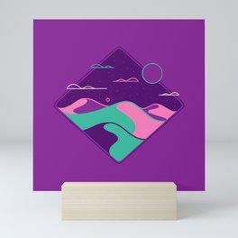 Line Scapes 3 Mini Art Print