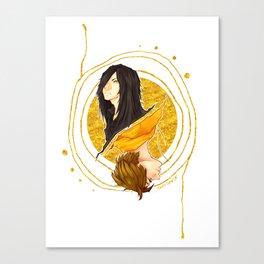 The Shadow of a Broken Dream Canvas Print
