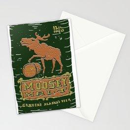 Moosey Malt Stationery Cards