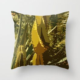 The Beauty Of A Cactus Throw Pillow