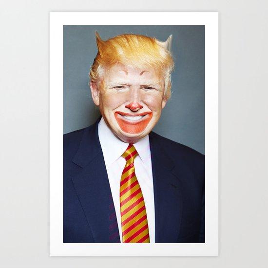 McDonald Trump Art Print