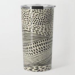 Hand Drawn Patterned Abstract II Travel Mug