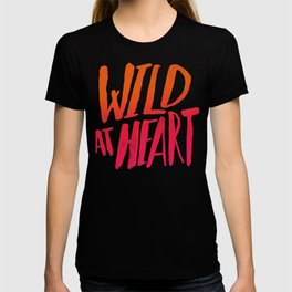 Wild At Heart x Typography Flame Ombre T-shirt
