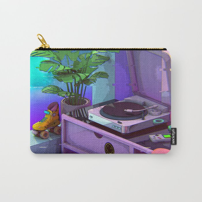Vaporwave Aesthetic Carry-All Pouch