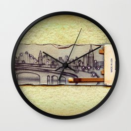Brooklyn-Queens Expressway Wall Clock