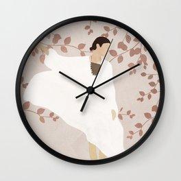 Soft Summer Breeze II Wall Clock