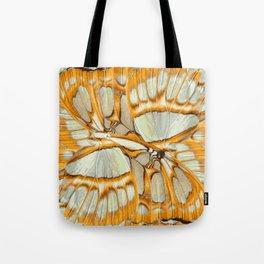 GOLDEN ORANGE – Wing Series Tote Bag