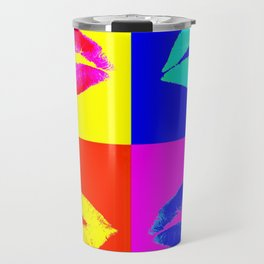 LIP SERVICE COLORS POP ART Travel Mug