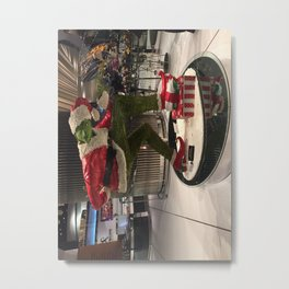 Grinch cAke in vegas Metal Print