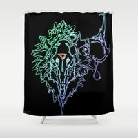 metal Shower Curtains featuring Metal! by ansinoa