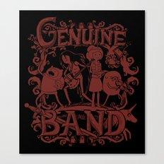 Genuine Band Canvas Print