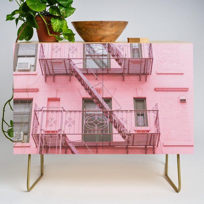 Pink Soho NYC Credenza