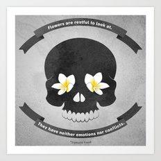 So said Freud Art Print