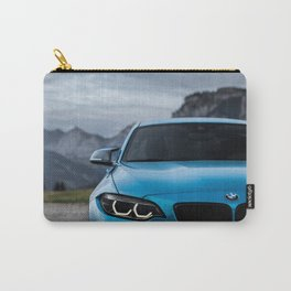 Sports Car Blue Carry-All Pouch