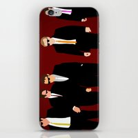 reservoir dogs iPhone & iPod Skins featuring Reservoir Dogs by Tom Storrer