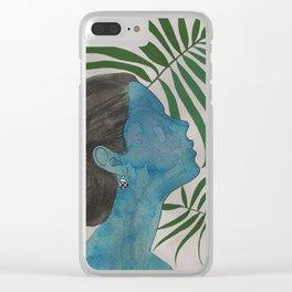 palmiye ( trabzon hasırı & kazaziye ) Clear iPhone Case